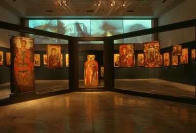 """Icons from the Orthodox Communities of Albania. Collection of the National Museum of Medieval Art of Korce"""