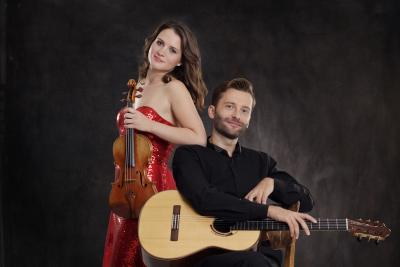 Concert by two internationally renowned musicians, Tjaša Kastelic (violin) and Jerzy Chwastyk (guitar)