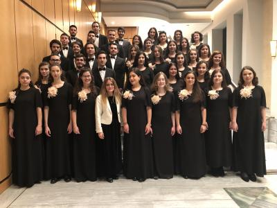 A concert of choral music by Macedonia University School of Music Science and Art Vocal Ensembles.