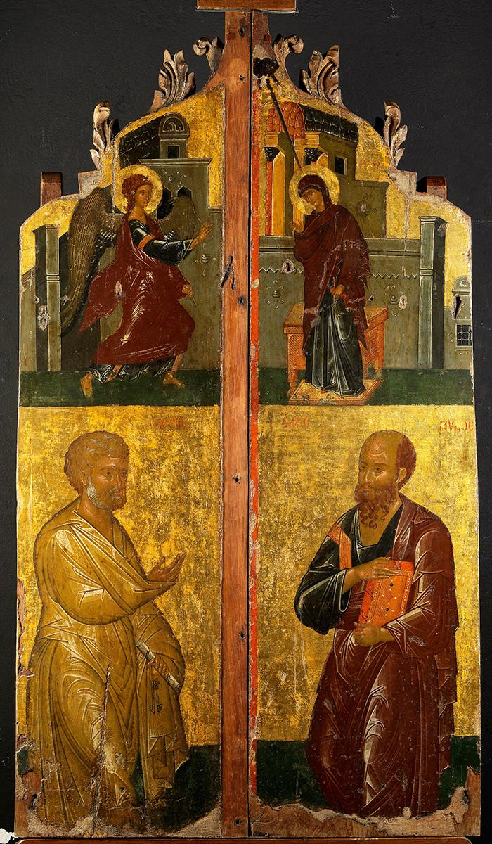 Holy Doors: The Annunciation; Saints Peter and Paul