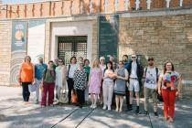 Participants of the RegionArts Program (INTERREG 2014-2020) at the Museum of Byzantine Culture, 21-6-2019