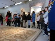 Educational program for the history of the mosaics.