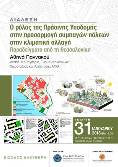 """""""The role of Green Infrastructure in the adaptation of compact cities to climate change: Examples from Thessaloniki"""""""