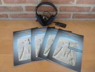 Audio-haptic guided tour: Touch and discover Byzantium (guided tour for blind or visually impaired)