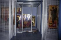 Storeroom for icons